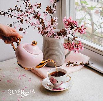 5 loại trà tốt cho sức khỏe thích hợp để uống vào mùa Xuân