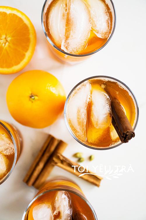 Cách làm trà cam quế mật ong cho những ngày giao mùa thất thường