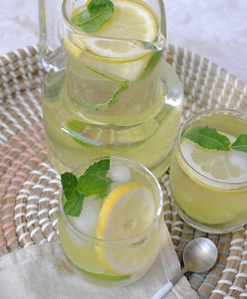 Cách pha trà hoa nhài chanh bạc hà siêu mát lạnh giải nhiệt ngày hè