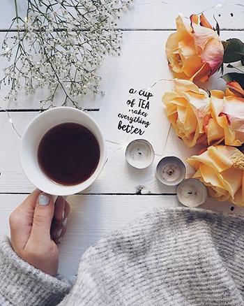 Một trong những điều mình rất thích khi uống trà là nhịp điệu của nó