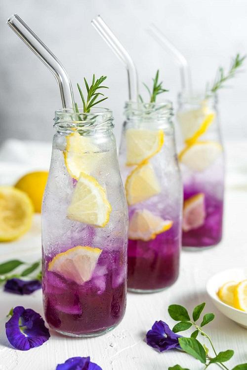 Cách Pha Trà Hoa Đậu Biếc Chanh Soda. Thức Uống Hoàn Hảo Mỗi Ngày Đến Từ Loài Hoa Diệu Kỳ