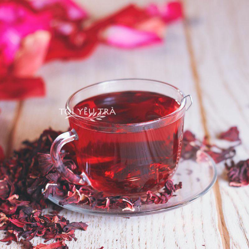 Trà hoa Atiso đỏ  Bình Thuận (Hibiscus Roselle) tách cánh