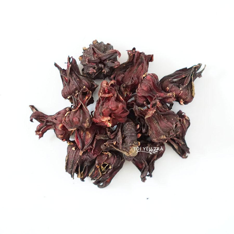 Trà hoa Atiso đỏ Bình Thuận (Hibiscus Roselle) nguyên bông